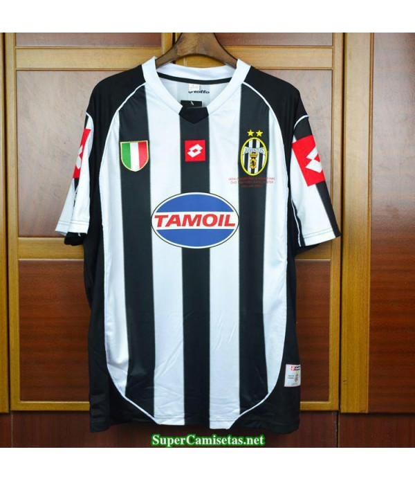 Camisetas Clasicas Juventus Champions League final Hombre 2002-03