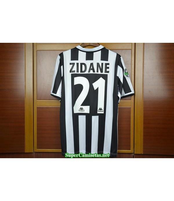 Camisetas Clasicas Juventus Hombre 21 Zidane 1996-97