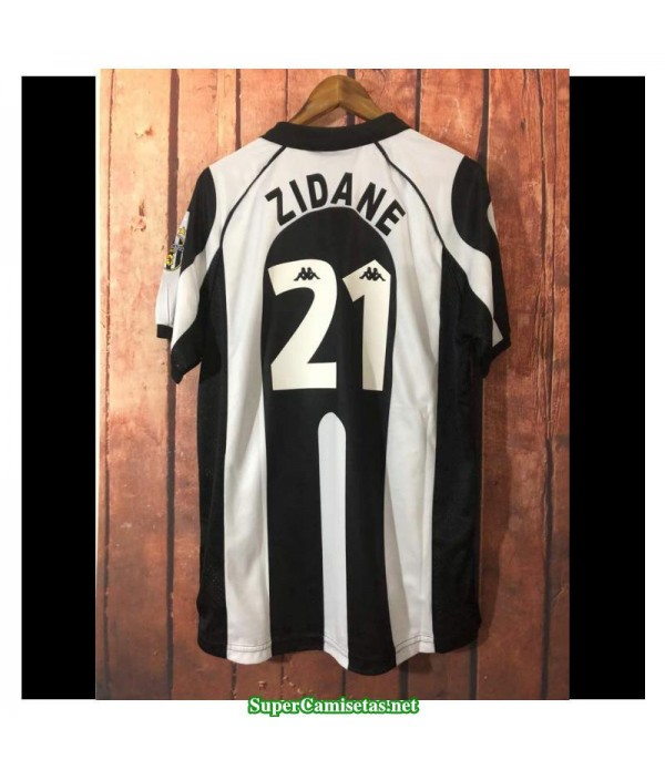 Camisetas Clasicas juventus Hombre 21 Zidane 1997-98