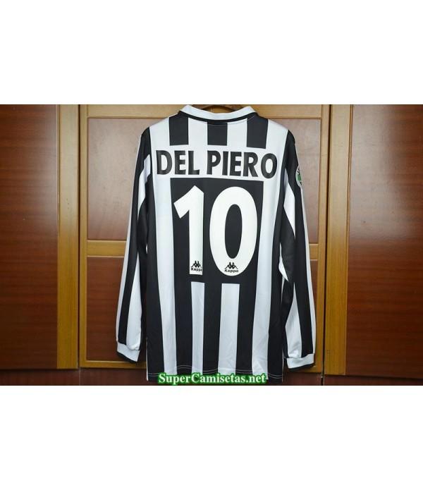 Camisetas Clasicas Juventus Hombre Manga Larga 10 Del Piero 1996-97