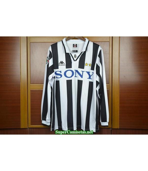 Camisetas Clasicas Juventus Hombre Manga Larga 1996-97