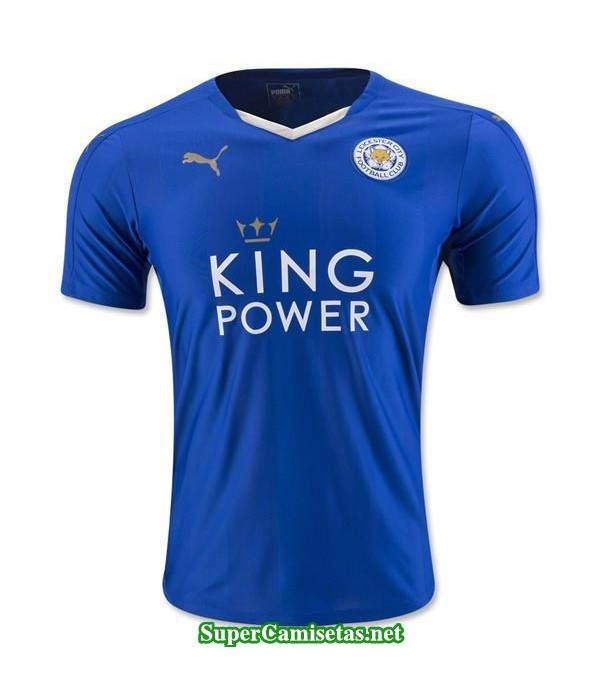 Camisetas Clasicas Leicester City Hombre 2015-16