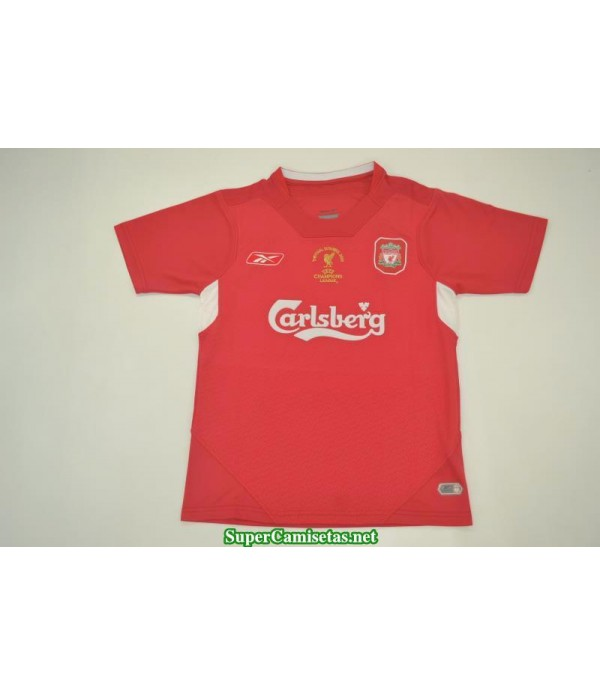 Camisetas Retro UCL final liverpool Hombre 2004-05