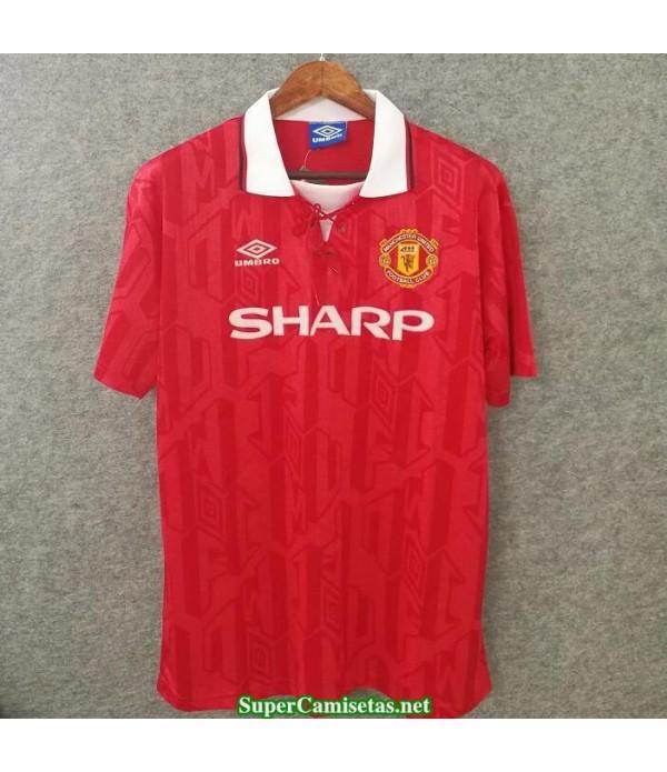 Camisetas Clasicas Manchester United Hombre red 1994