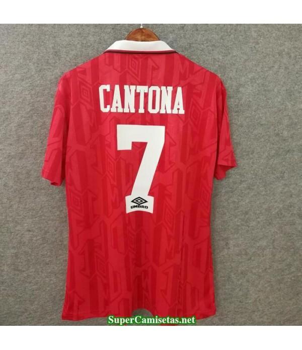 Camisetas Clasicas Manchester United Hombre red 7 Cantona 1994