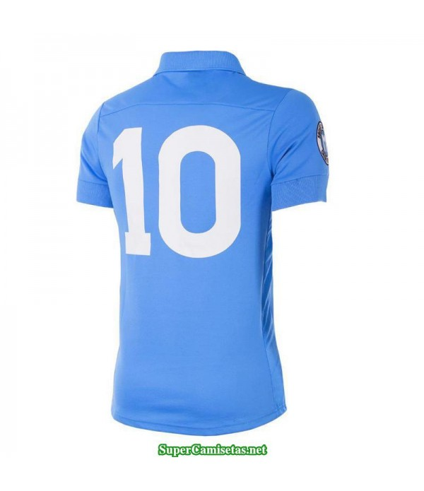 Camisetas Clasicas Napoles blue 10 Maradona 1987-88