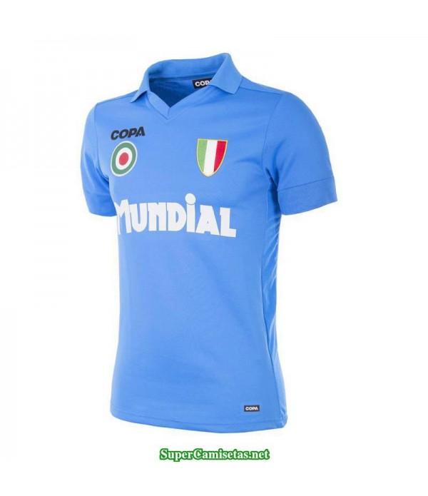 Camisetas Clasicas Napoles blue 1987-88