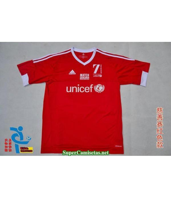 Camisetas Clasicas Beckham charity event red 2015