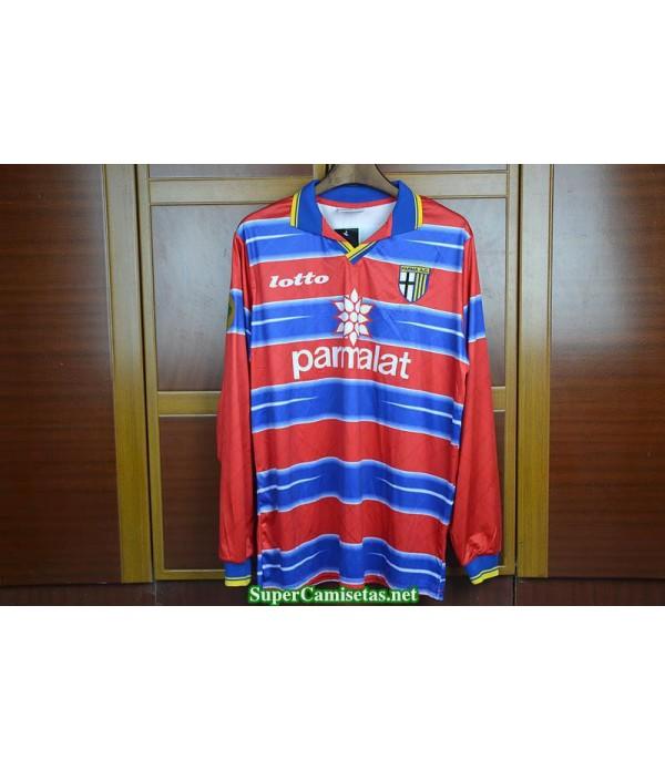 Camisetas Clasicas Parma EU cup Goalkeeper Manga Larga 1998-99