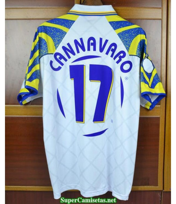 Camisetas Clasicas Parma Hombre 17 Cannavaro 1996-97