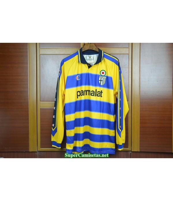 Camisetas Clasicas Parma Hombre Manga Larga 1999-2000