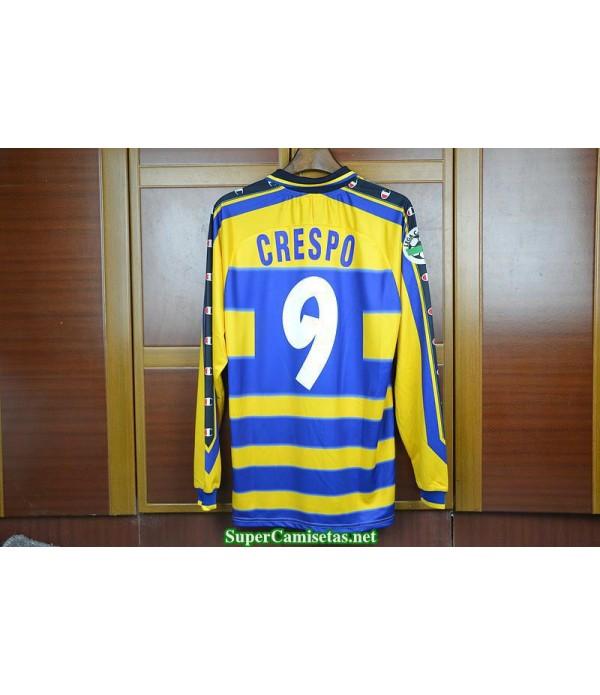 Camisetas Clasicas Parma Hombre Manga Larga 9 Crespo 1999-2000