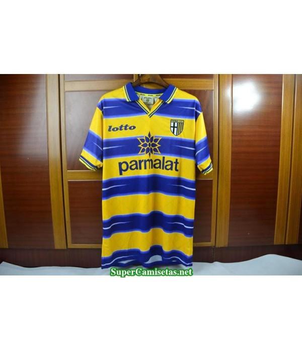 Camisetas Clasicas parma Hombre yellow 1998-99