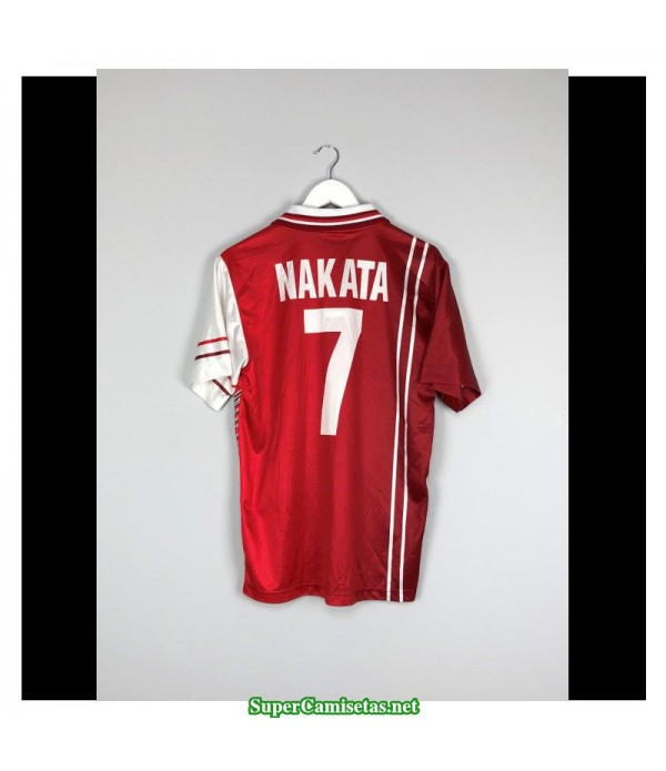 Camisetas Clasicas Perugia Hombre 7 Nakata Hidetoshi 1998-99