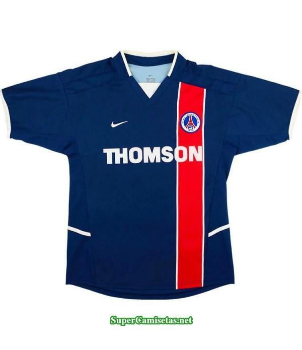 Camisetas Clasicas PSG Hombre blue 2002-03