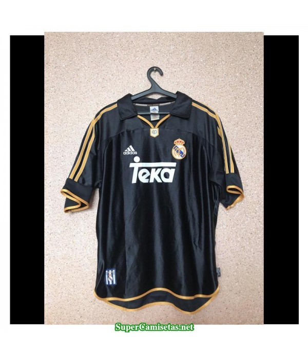 Camisetas Clasicas Real Madrid black 1999-2000
