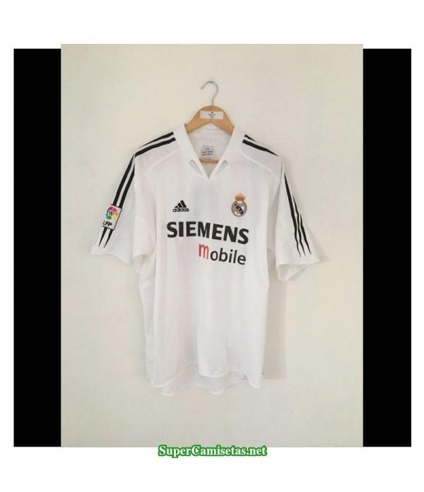 Camisetas Clasicas Real Madrid Hombre 2004-05