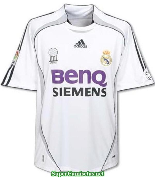 Camisetas Clasicas Real Madrid Hombre 2006-07