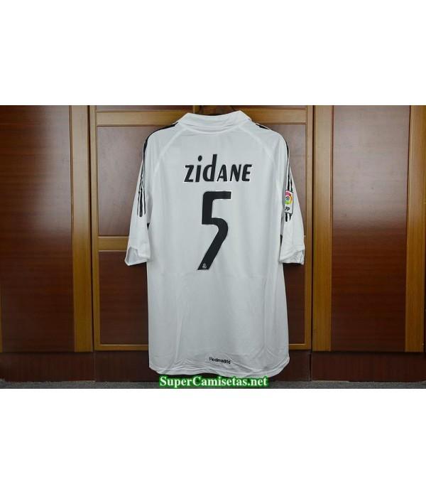 Camisetas Clasicas real madrid Hombre 5 Zidane 2005-06