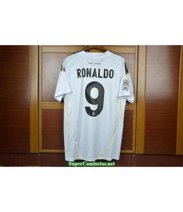 Camisetas Clasicas Real Madrid Hombre 9 Ronaldo 2009-10