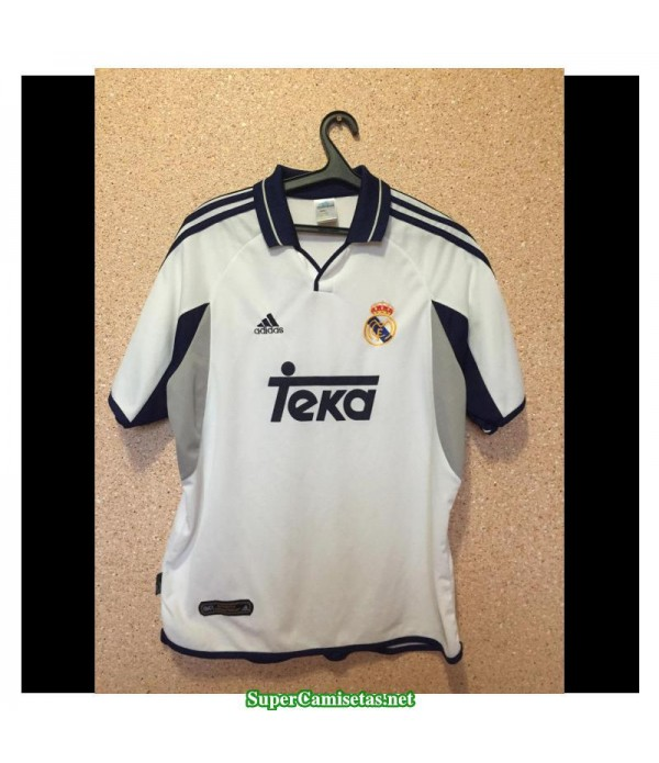 Camisetas Clasicas Real Madrid Hombre Champions League 2000-01