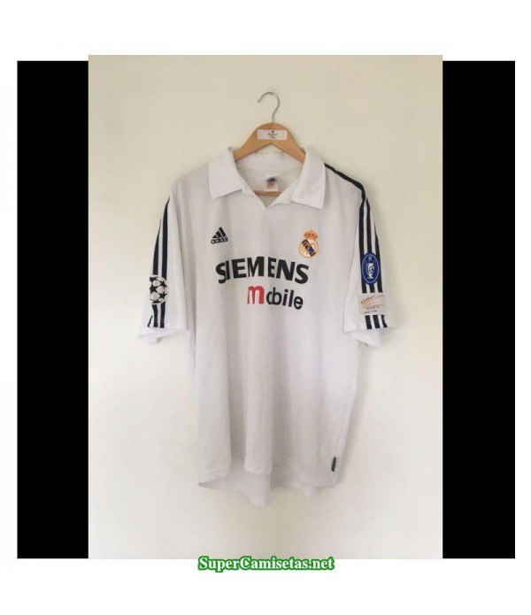 Camisetas Clasicas Real Madrid UCL final 2002-03