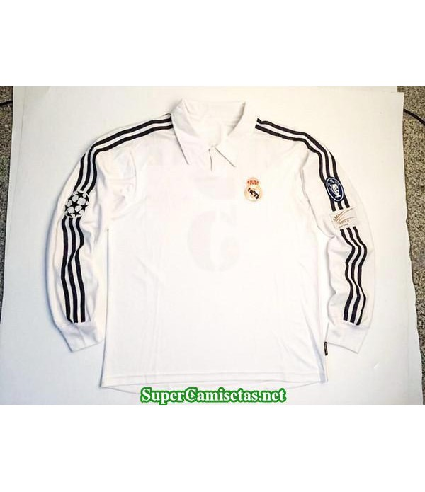 Camisetas Clasicas Real Madrid UCL final Manga Larga 2002-03