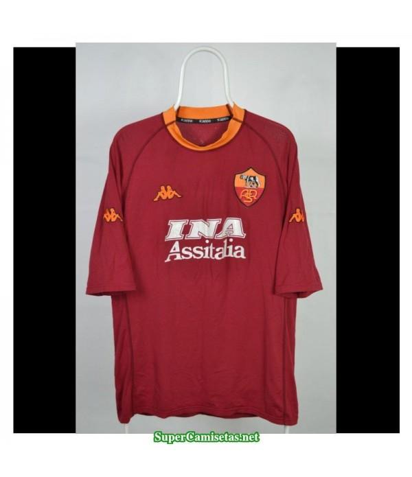 Camisetas Clasicas AS Roma Hombre 2000-01