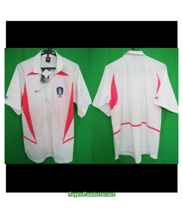Camisetas Retro South Korea away 2002-03