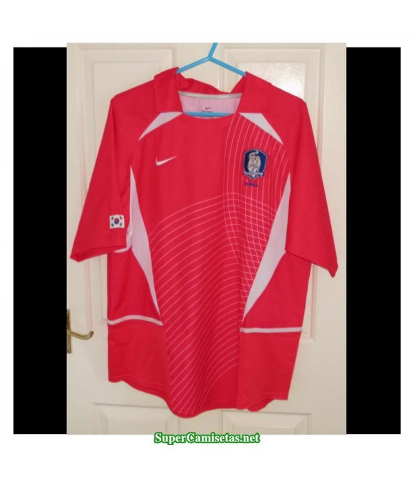 Camisetas Retro South Korea Hombre 2002-03
