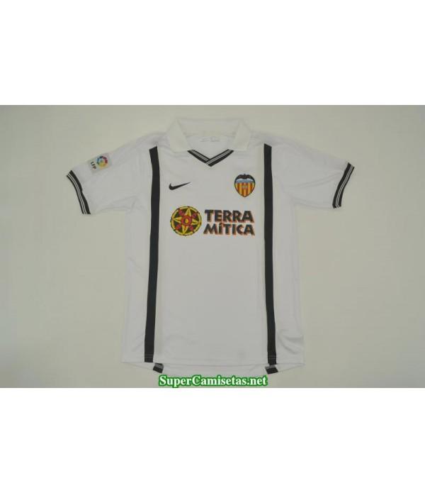 Camisetas Clasicas UCL final Valencia Hombre 2000-01