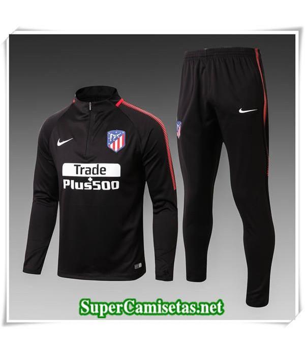 chandal Atletico Madrid Bebé Niño Negro 2017/18