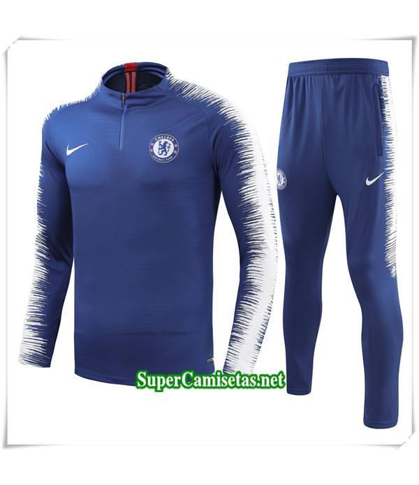 chandal Chelsea FC Azul Fans Bebé Niño 2018/19