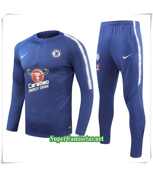 chandal Chelsea FC Azul Marino Bebé Niño 2018/19