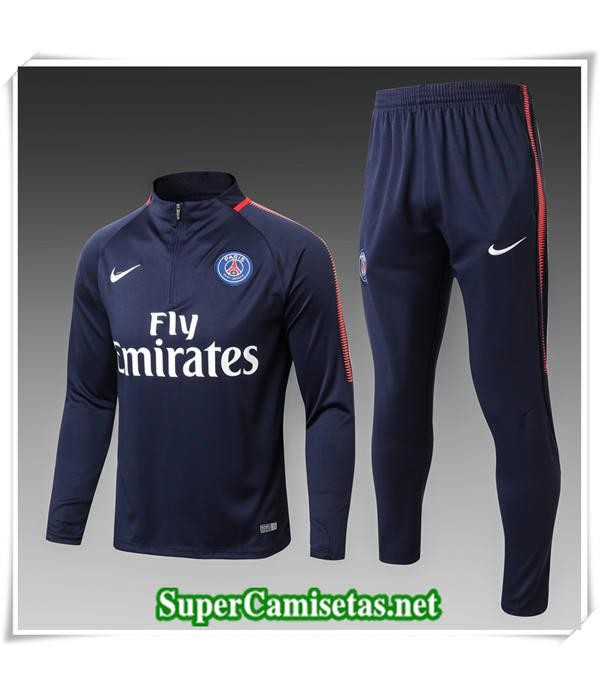 chandal Paris Saint Germain Bebé Niño Azul Marino 2017/18