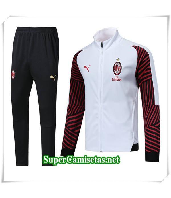 chandal AC Milan Blanc 2018/19