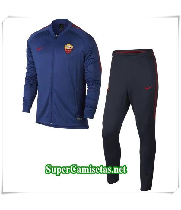 chandal AS Roma Azul 2018/19
