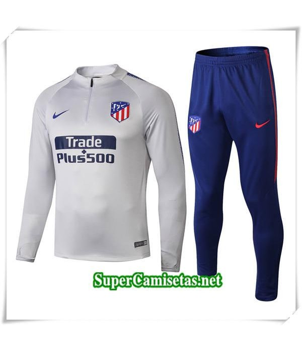 chandal Atletico Madrid Gris 2018/19