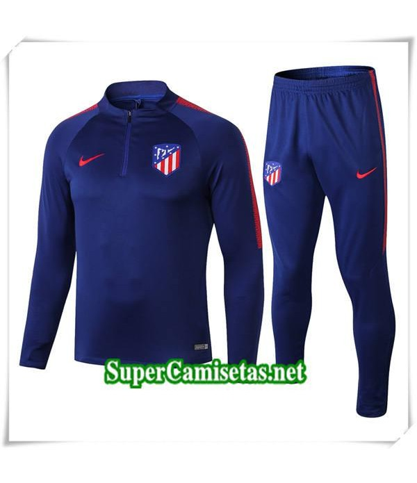 chandals Atletico Madrid Couleur Azul 2018/19