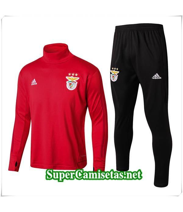 chandal de foot Benfica Roja 2017/18