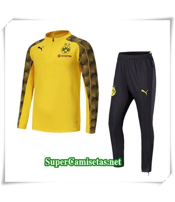 chandal Dortmund Amarillo Taladro de huelga 2018/19