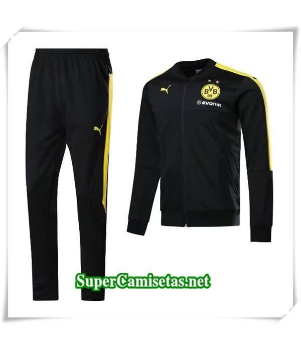 chandal Dortmund Negro 2017/18