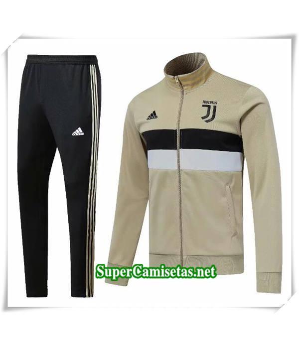 Chandal Juventus Amarillo Blanc Negro 2018/19