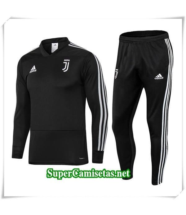 chandal Juventus Negro V 2018/19