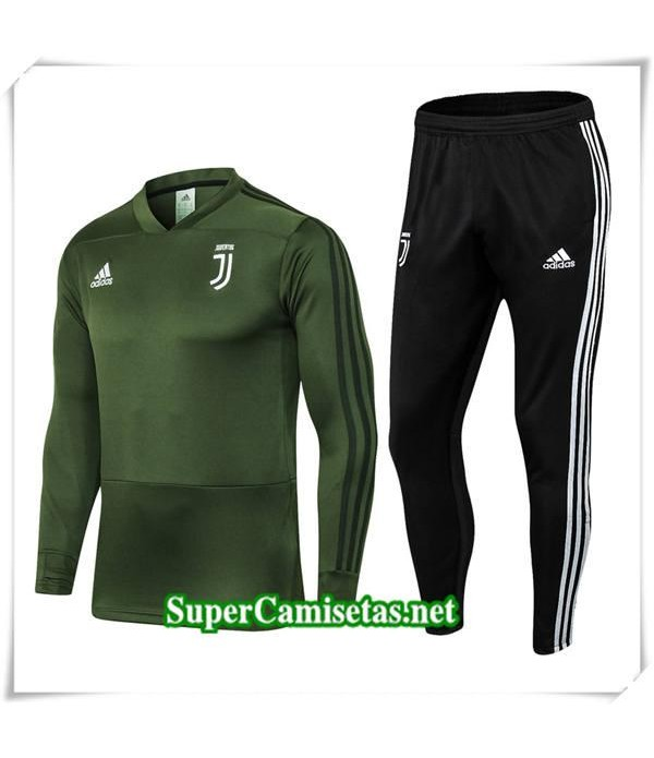 chandal Juventus Verde V 2018/19