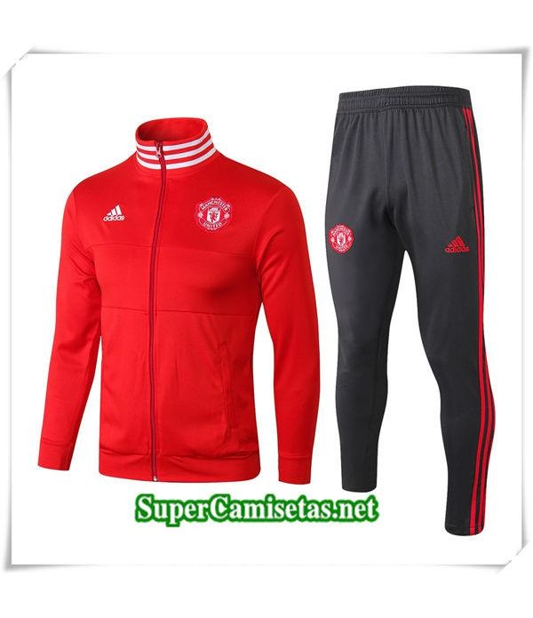 chandal Manchester United Roja 1819