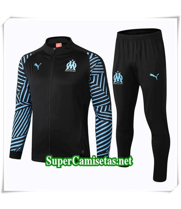 chandals Chandal Marseille Negro 2018/19