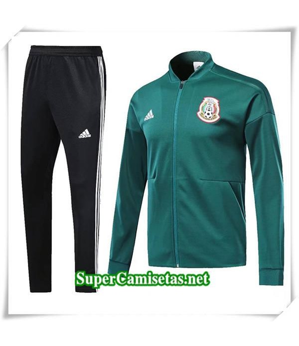 chandal Mexico Verde 2018/19