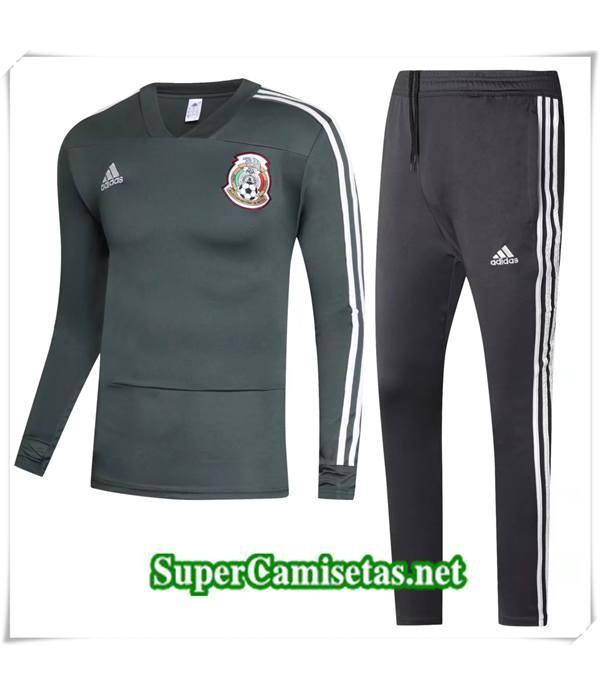chandal Mexico Verde Fonce 2018/19