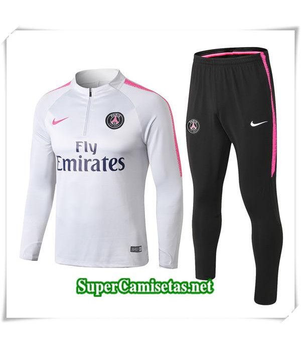 chandal Paris Saint Germain Gris 1819